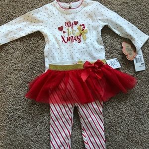 🌟 6 month Baby Essentials My 1st Christmas 2 Pc🌟